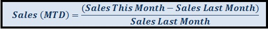 Sales (MTD)